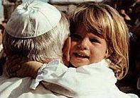 Papež a dítě
